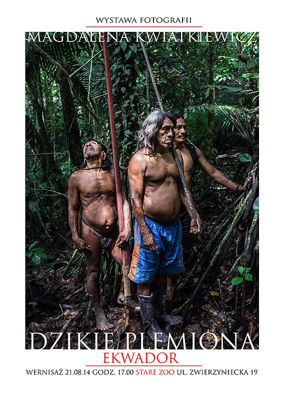 Dzikie plemiona - Ekwador 2014