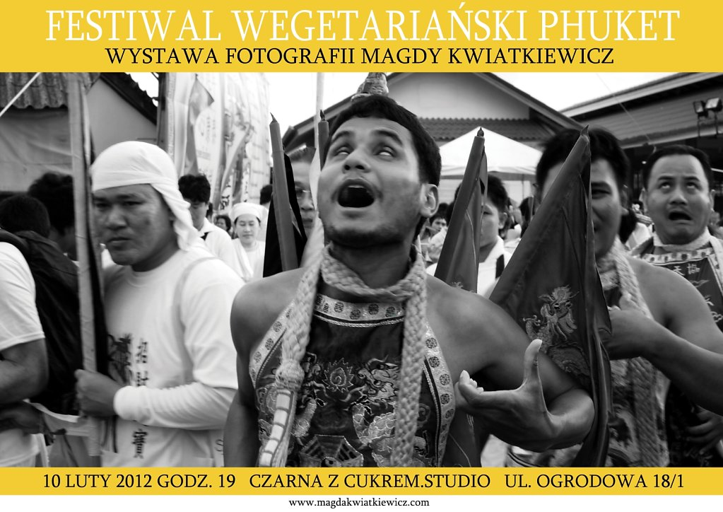 Festiwal Wegetariański - Phuket 2012
